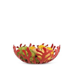 Alessi Mediterraneo Fruit Bowl 29cm in Red ESI01/29 R lifestyle