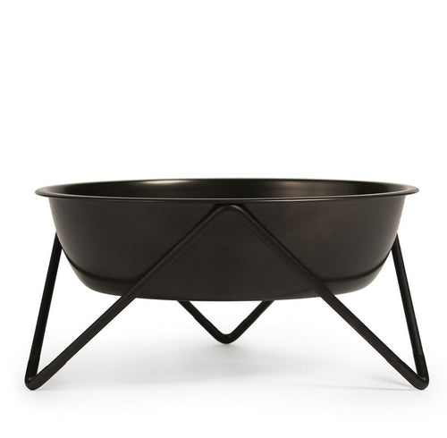 Bendo Woof Pet Dog Bowl Black on Black Sydney Australia