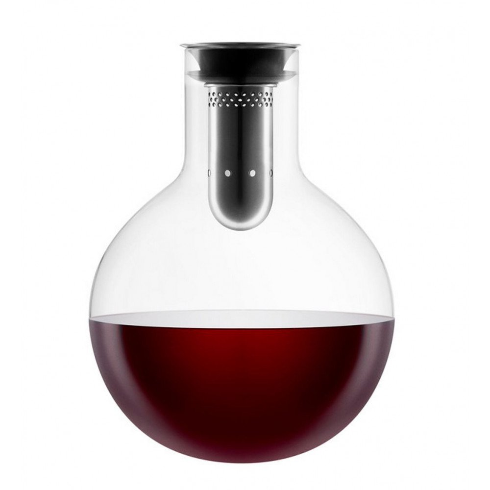 Eva Solo Decanter Carafe Wine Aerator With Red Wine