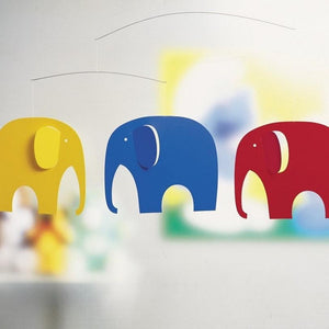 Flensted Mobiles Australia Online Store Elephant Party   Children's Mobiles