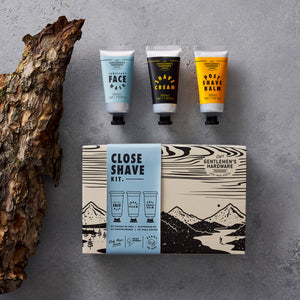 GENTLEMANS HARDWARE Close Shave Kit Lifestyle