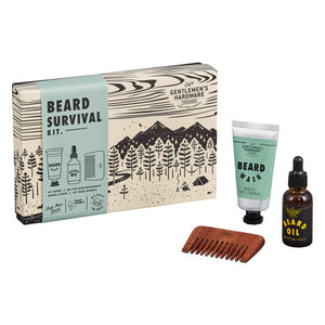 GENTLEMANS HARDWARE Beard Survival Kit Main 2