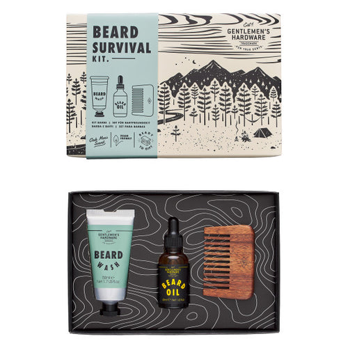 GENTLEMANS HARDWARE Beard Survival Kit Main