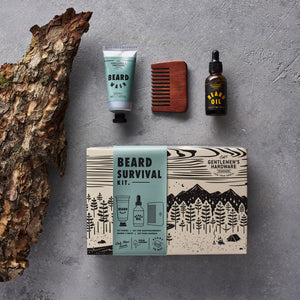 GENTLEMANS HARDWARE Beard Survival Kit Lifestyle