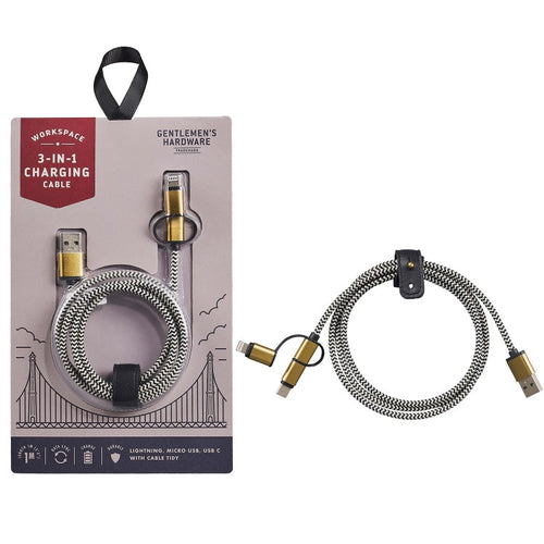 GENTLEMANS HARDWARE Charging Cable Main