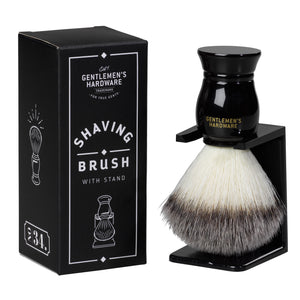 GENTLEMANS HARDWARE SHAVING BRUSH AND HOLDER MAIN 2