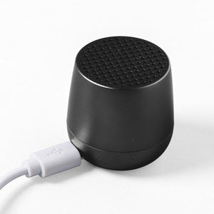 Lexon Mino Portable Bluetooth Speaker Black - USB Charger