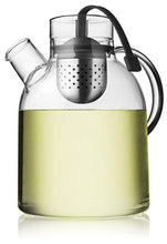 Load image into Gallery viewer, Menu Glass Kettle Teapot With Tea Egg Infuser - 1.5 litre Norm Architects