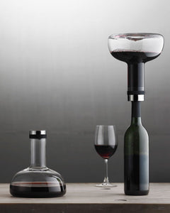 Menu Design Wine Areator Breather Carafe Norm Architects