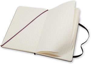 Moleskine Classic Notebook Grid Large QP061 Inside
