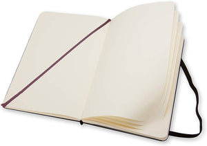 Moleskine Classic Notebook Plain Large QP062 inside