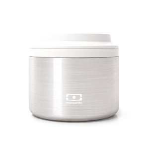 Monbento MB Element Lunch Box in Silver Main 01