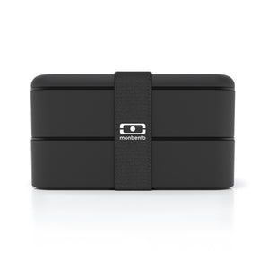 Monbento MB Original Bendo Box Lunch Box in Black Main