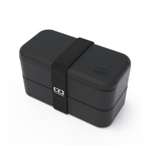 Load image into Gallery viewer, Monbento MB Original Bendo Box Lunch Box in Black Side