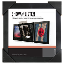 Load image into Gallery viewer, PINNACLE Show and Listen Vinyl Record Frame Main