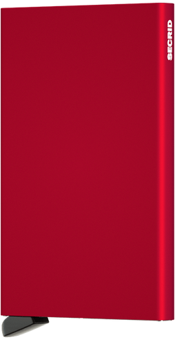 Secrid Card Protector Red Main