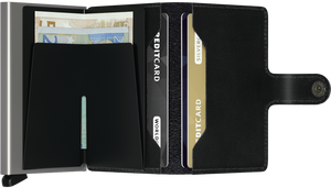 Secrid Miniwallet Original Black Open