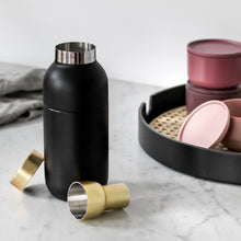 Load image into Gallery viewer, Stelton Collar Cocktail Shaker & Measurer Lifestyle