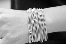 Load image into Gallery viewer, Torini Antonio Ben Chimol Masai Bracelet 20 Silver Lifestyle