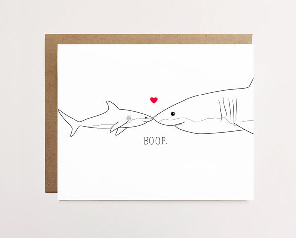 Baby shark and mommy shark - Mother's day card