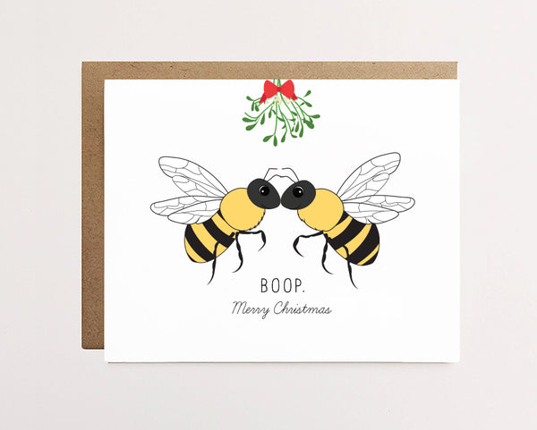 Bee boop - Christmas Card - NEW