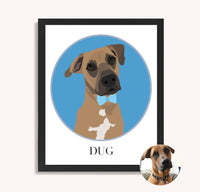 DIGITAL - Custom Dog Portrait