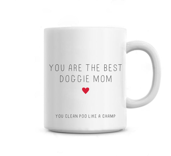 Best doggie mom - Mother's day mug