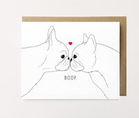 Frenchie Boop - Love Card