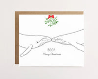 Humpback Whale Boop - Christmas Card