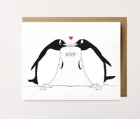 Penguin Boop - Love Card