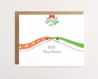Snake boop  - Christmas Card