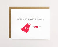 Superhero mom - Mother's day card