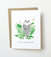 Garden of wisdom - Mother's day card