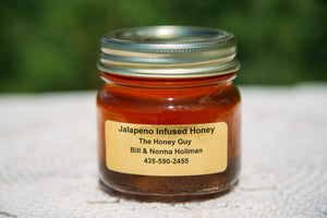 Jalapeño Infused Honey