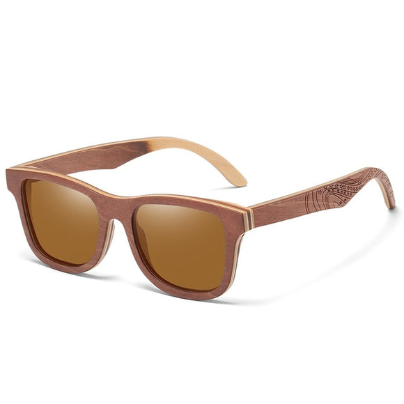 Bamboo and wood Sunglasses