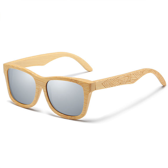 Bamboo sunglasses for my boyfriend 🌞 Absolute trend!