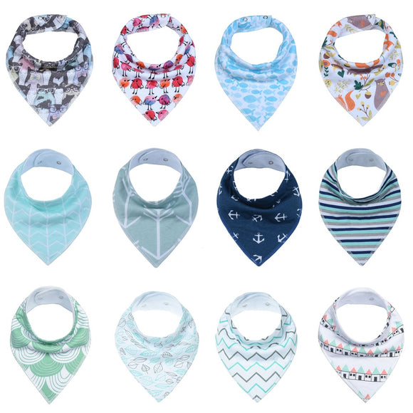 Lot of 12 bandanas round neck, for baby pen!