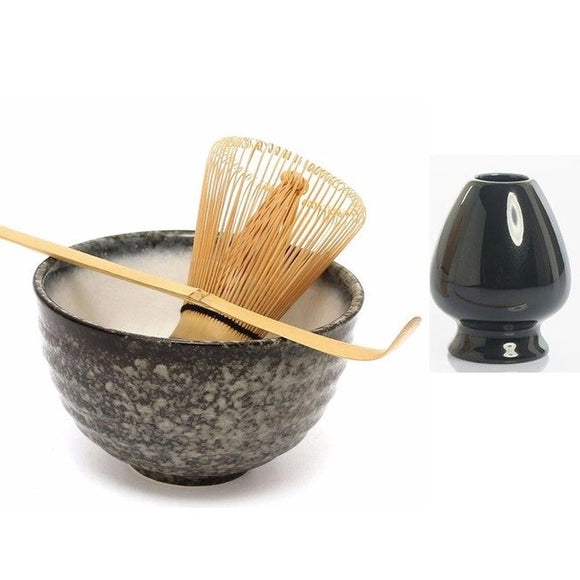 Matcha tea set, the elegance of tradition.