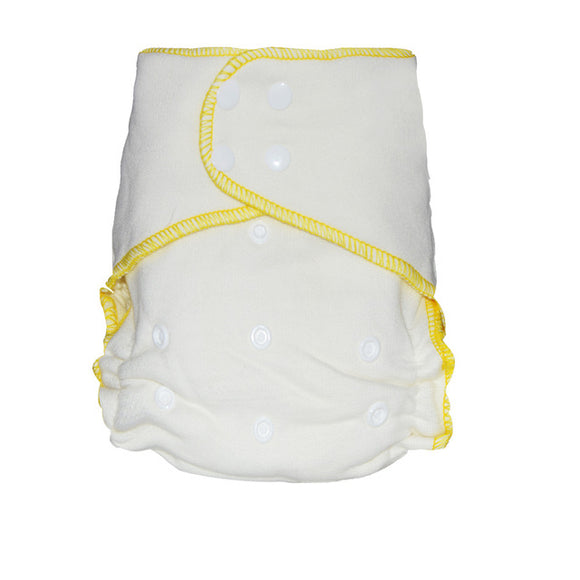 A very absorbent washable diaper, for baby from 5-15kgs, 70% bamboo 30% Cotton