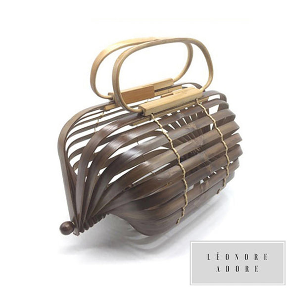 Handmade Bamboo Bag. An irresistible design, for a feminine world.