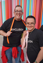 Load image into Gallery viewer, #INCLUSION T-shirt - Box of Sunshine