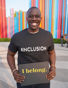 #INCLUSION T-shirt - Box of Sunshine