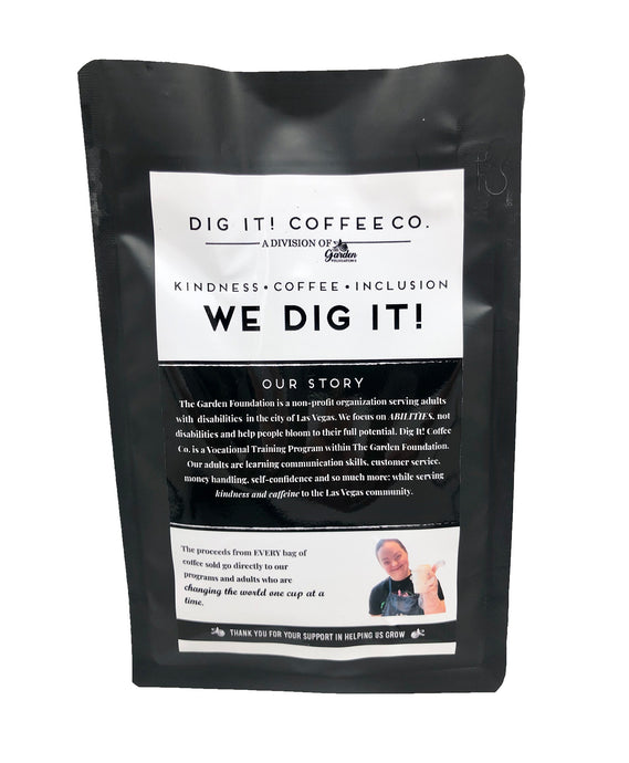Dig It! Coffee (Whole Bean) - The Garden Foundation