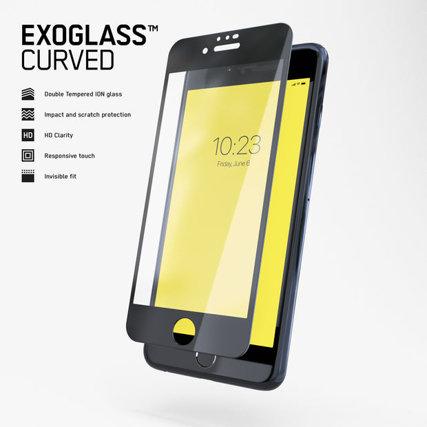 Exoglass™ Curved | iPhone 7/8 Plus