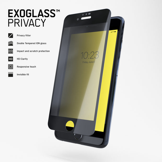 Exoglass™ Privacy | iPhone 6/7/8 Plus