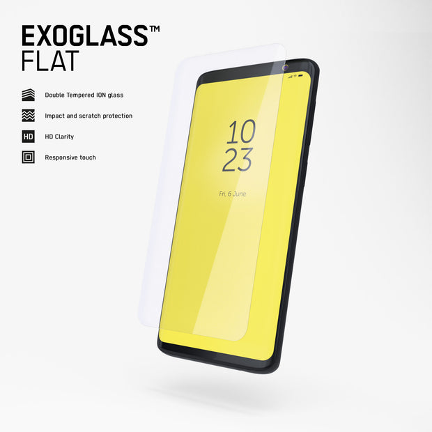 Exoglass™ Flat | Nokia 8.1 Plus