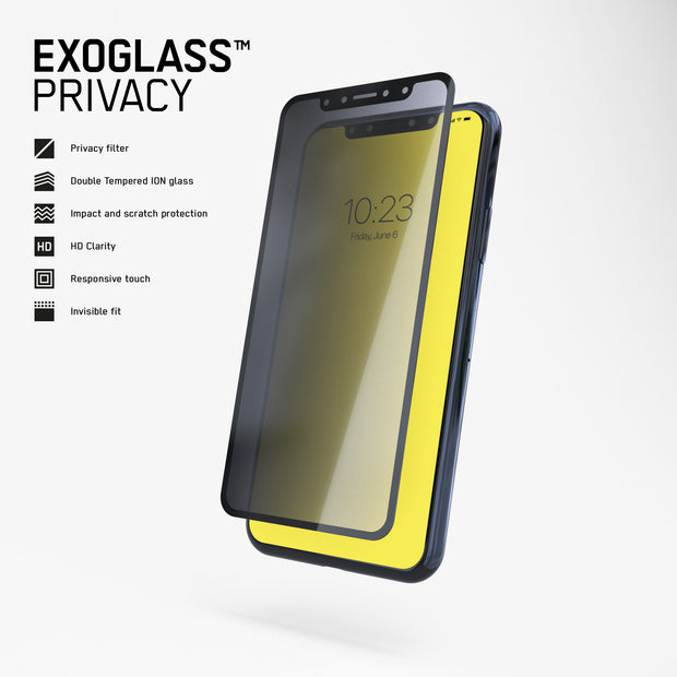 Exoglass™ Privacy | iPhone X/Xs