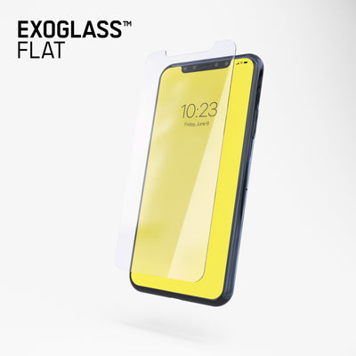Exoglass™ Flat | iPhone X/Xs