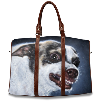 Mr. Bubz Portrait Travel Bag