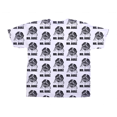 Mr. Bubz Sketch All Over Unisex Shirt (Black)